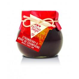 Jordbær Marmelade med Marc de Champagne 113gr.