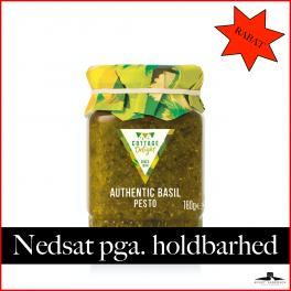 Grøn Basilikum Pesto 180gr. (30.09.2021) 50% RABAT.