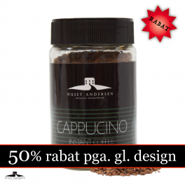Cappucino  - Instant Kaffe 50gr. (03.2022) 50% RABAT.