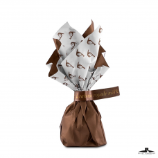 Chokoladefigner med havsalt og karamel - 1 kg.  (ca. 60 stk.)