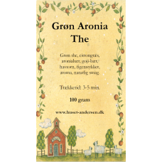 Grøn Aronia The - 100gr. opposet