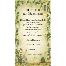 Urte the med Hasselnød - 50gr. opposet