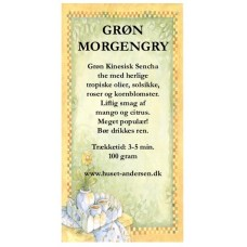 Grøn Morgengry - 100gr. opposet