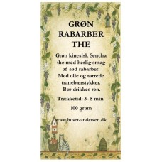 Grøn Rabarber The - 100gr. opposet